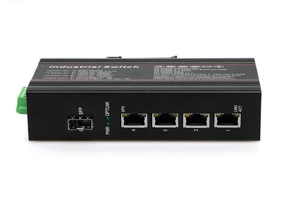 China Professional 1.4Gbps Din Rail Poe Switch 512K Memory Managed Gigabit Ethernet Switch supplier