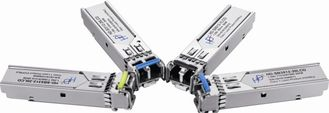 China Hot Pluggable BIDI SFP Fiber Transceiver Durable For Gigabit Ethernet supplier
