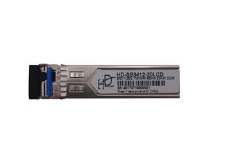 China 3.3V Optical Fiber Sfp Transceiver 1000base Lx LVPECL Data Interface supplier