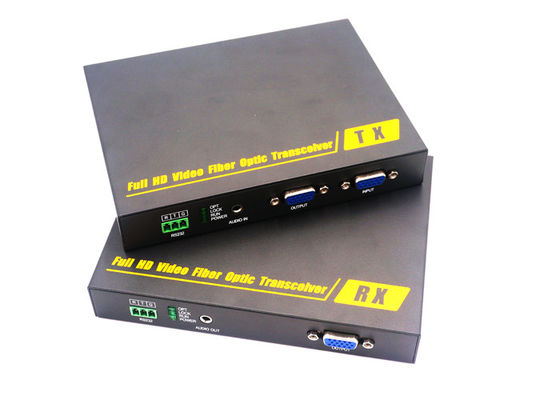 China 3G Full HD 1080P VGA Fiber Extender 1Channel With 0-10km Distance supplier