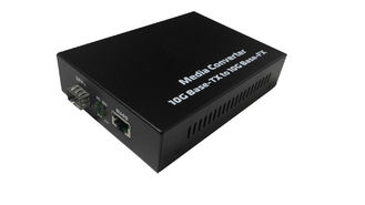 China 5W Fiber Optic Media Converter Support Hot Plugging , Optical To Ethernet Converter supplier