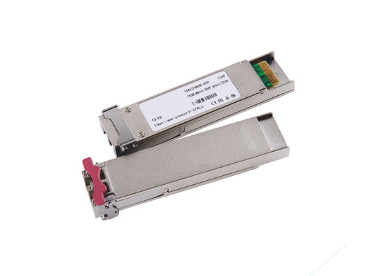 China ZR XFP 10G SFP Transceiver 1550nm For Fiber Channel / FDDI 3 Years Warranty supplier