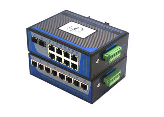 China 8 Port Unmanaged Fiber Ethernet Switch 100Mbps Wall Mounting Installation supplier