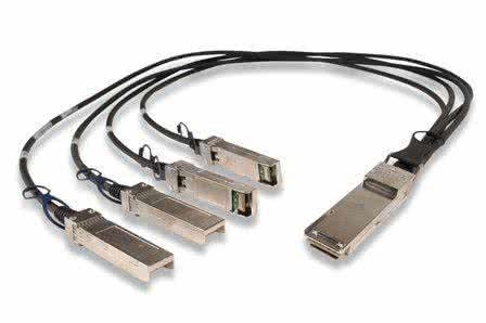 China Dule LC DOM QSFP Optical Transceiver SMF For Infiniband Interconnects supplier
