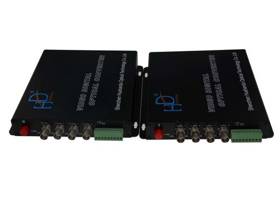 China Professional Video To Fiber Converter , 6.5MHz Full Hd Data Video Converter supplier