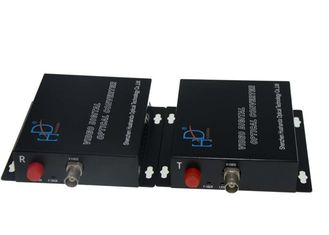 China Single / Multimode Fiber Optic Video Transmitter With 50MHz Bandwidth supplier