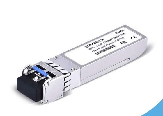 China Optical BIDI 10G SFP Transceiver 1.5 Watt With 1330nm/1270nm Wavelength supplier