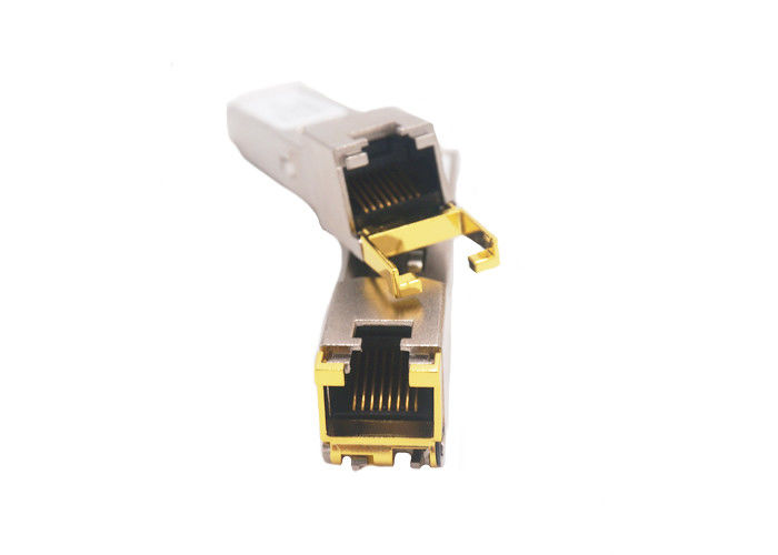 Copper 10Gbps 10G SFP Transceiver HD-10GLC-T RJ45 Port SFP Max 20M