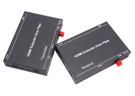 China DVI VGA To Optical Converter RS232 , Industrial HDMI To Fiber Converter factory
