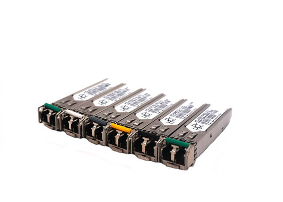 China Single LC SFP Bidirectional Transceiver Fiber Optic With 40KM Distance factory