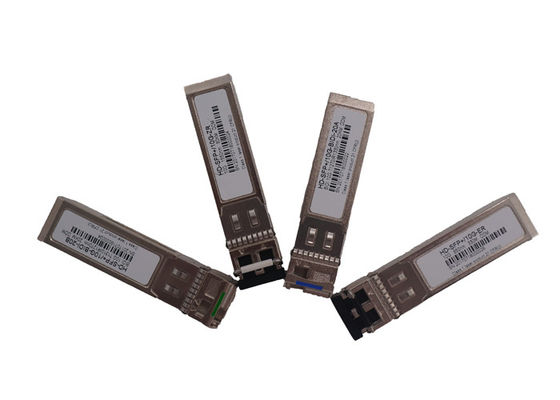 China Simplex LC 10G SFP Transceiver 80km Distance Fr Telecommunication factory