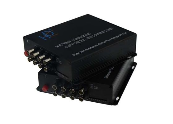 China Multiplexer Video To Fiber Converter With RS485 Reverse Data OEM ODM Service factory