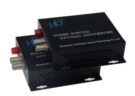 China Simplex FC Video To Fiber Converter 1080p/30Hz With 8bit Bandwidth factory