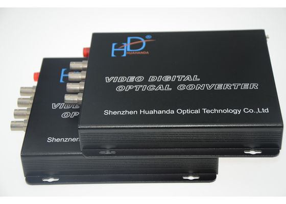 China Multifunctional 4 Channel Video To Fiber Converter 110bps-115.200Kbps distributor